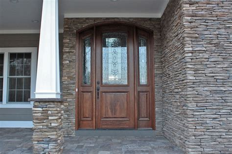 Arched Doors Exterior Arched Top Doors Mahogany Door Arched Front Doors