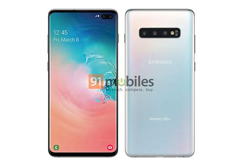 Samsung Galaxy S10 Talk by Samsung Galaxy S10 Shows Its Punch Display In Another Leaked Image Phonedog