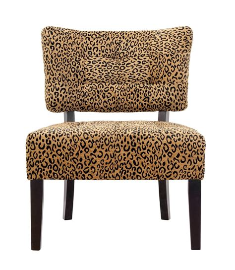 Leopard Print Accent Chair Ds07 Quot Tufted Quot Accent Chair Leopard Print