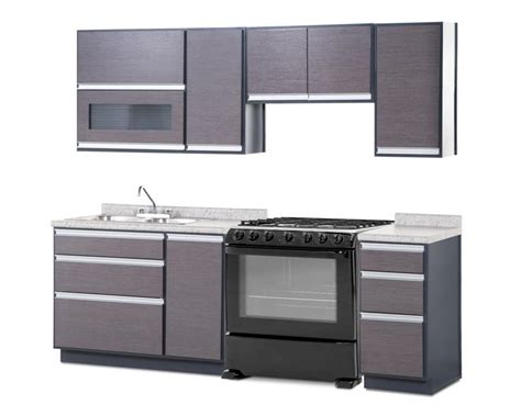 cocina integral coppel cocina milan con 7 puertas 3454413 coppel