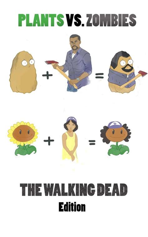 got7 zombie game plants vs zombies the walking dead edition by anaisrandom
