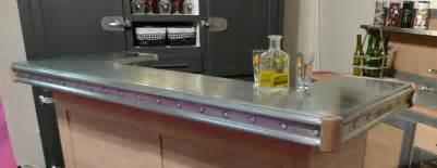 comptoir de cuisine zinc image sur le design