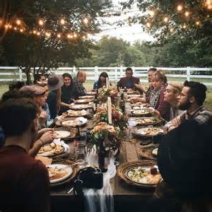 Home Decor Influencers by I Want This A Long Table Homemade Food Dreamy Setting