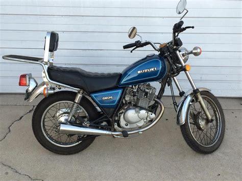 Suzuki 125 For Sale Suzuki Gn 125 Motorcycles For Sale