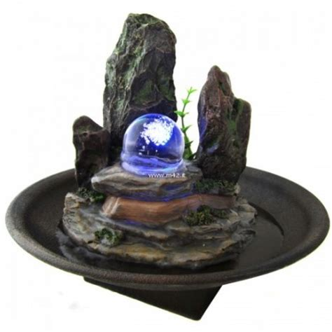 fontane da interno zen fontana da interno feng shui relax roccia illuminata