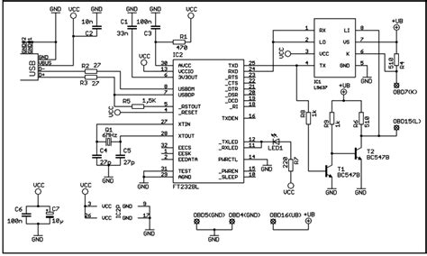 Audi Kl Ker by Usb Kkl Interface F 252 R Obd Kw 71 Kw 1281 Iso 9141 Iso