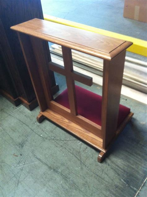 kneeling bench in church prayer on pinterest