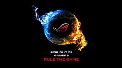 republic of gamers wallpaper high resolution asus republic of game logo hd wallpaper wallpaper gallery