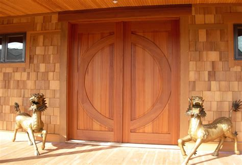 Craftsman Home Design Elements by Timber Frame Exterior Doors New Energy Works
