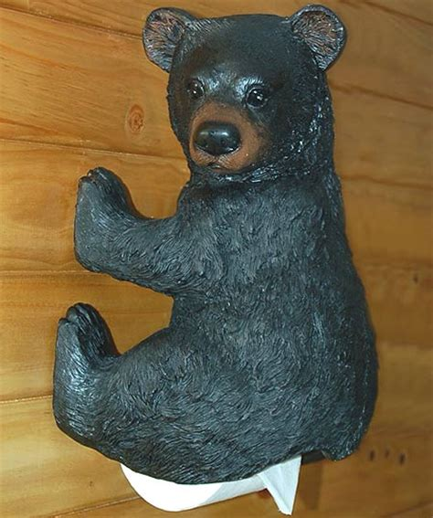 bear toilet paper holder bear butt toilet paper holder