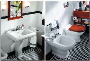 Vintage Black And White Bathroom Ideas by Black And White Ceramic Tile Home Garden Design