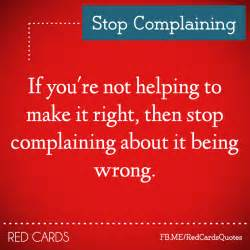 stop complaining signs sayings quotes