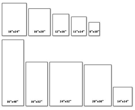 canvas layout sizes costco canvas printing 16x48 74 living room redesign