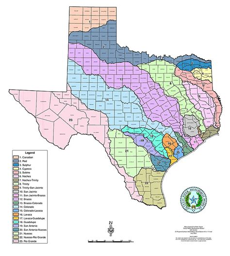 major rivers of texas map texas river basins tularosa basin 2017