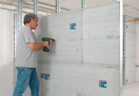 wand einziehen stawianie ścianek z płyt gipsowo kartonowych obi