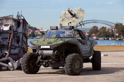 halo warthog jeep visit a halo warthog on sydney harbour kotaku australia