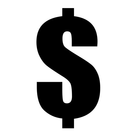 The Sign Black dollar sign black free stock photo domain pictures
