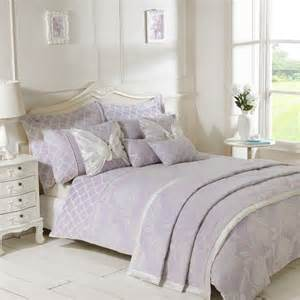 lilac bedding freya lilac luxury jacquard duvet cover julian charles