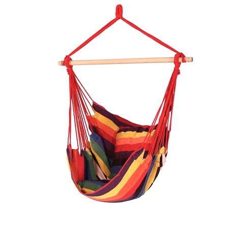 swing capacity sunnydaze hanging hammock chair swing 265lb capacity