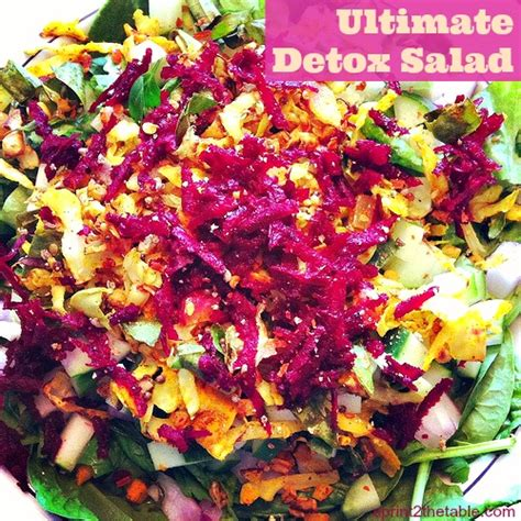Sesame Detox by Work It Out 15 Detox Foods Sprint 2 The Table