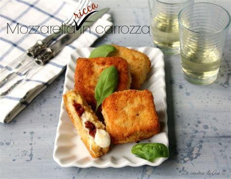 mozzarella in carrozza pangrattato mozzarella in carrozza ricetta saporita