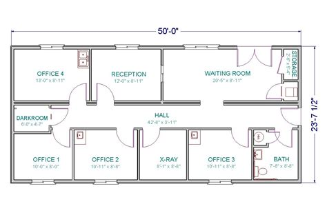 floor plan of a commercial building modular medical center home interior design ideashome