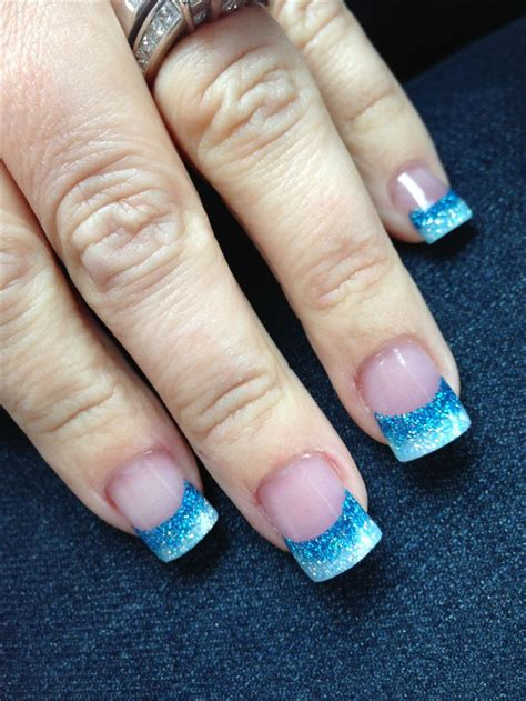 moon shape ombre glitter nail art pinterest ombr 233 acrylic nails hair nails beauty pinterest