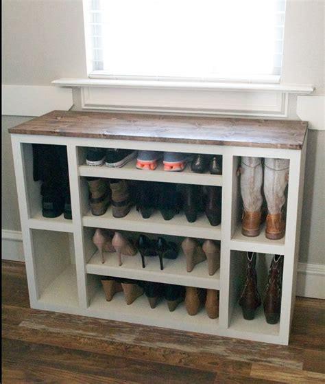 diy shoe cubby the best diy shoe storage ideas