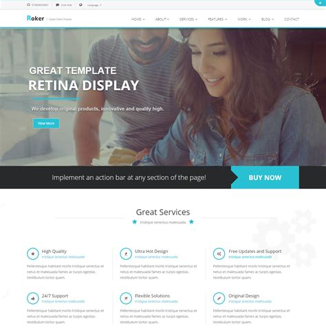 Best Technology Website Templates For Engaging Online Appearance Best Site Templates