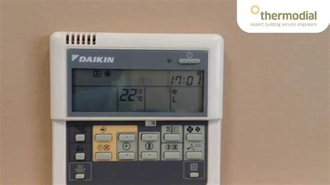 Ac Daikin National how to change the time and day on a daikin air