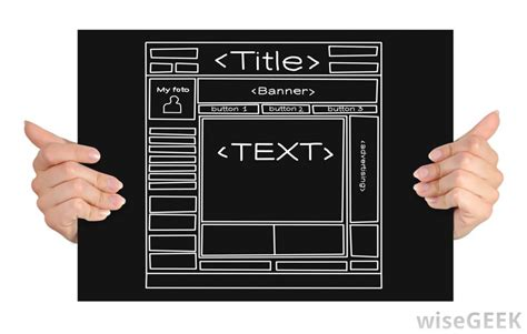 What Are Web Templates With Picture Web Outline Template