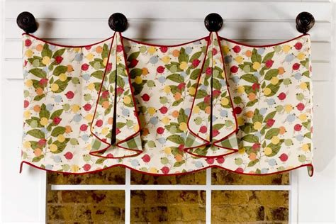 curtain valance patterns tracy curtain valance sewing pattern pate meadows