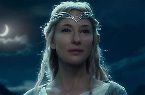 lord of the rings hobbit galadriel crown silver metal