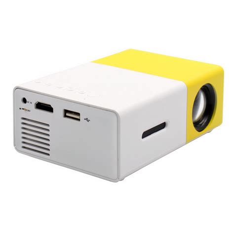 Portable Mini Led Projector Gm60hd yg300 mini portable 1080p hd led projector multimedia home