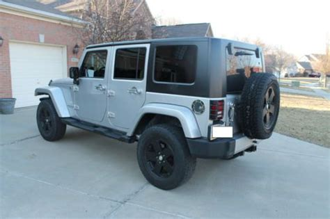 Used Jeep Bumpers Find Used 2008 Jeep Jk Unlimited Black Wheels