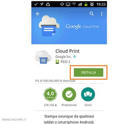 cloud print android come condividere la stante wifi tra pi 249 utenti nigiara it
