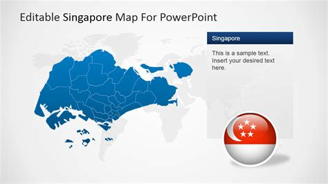 Editable Singapore Powerpoint Map Slidemodel Editable Powerpoint Templates