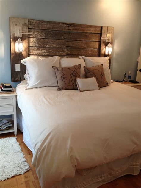 how to make your own wood headboard 25 best ideas about make your own headboard on pinterest
