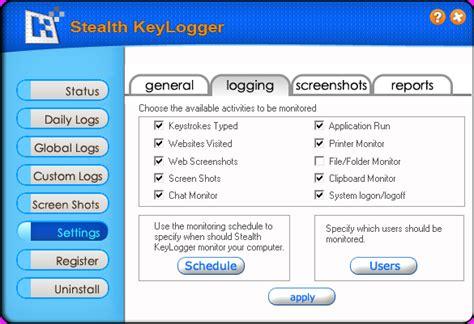 best stealth keylogger stealth keylogger screenshots
