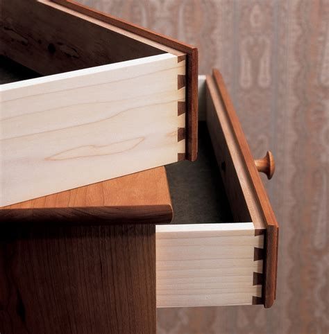 woodworking drawer aw 12 6 12 lipped drawers with a dovetail