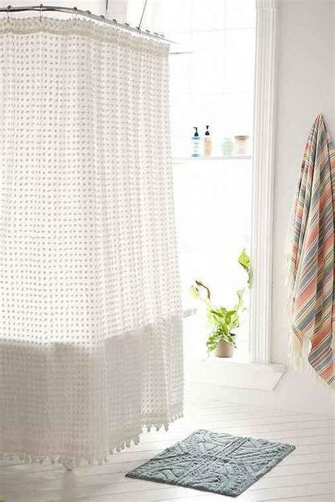 pom pom shower curtain plum and bow pom pom dot white shower curtain