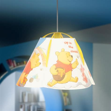 Winnie The Pooh Ceiling Light Children S Light Winnie The Pooh Ceiling L Hanging Lighting Ebay