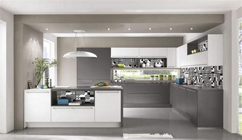 graue einbauküche k 252 che grau wei 223 holz