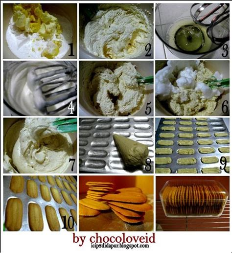 Spatula Lidah catatan di dapur step by step membuat lidah kucing