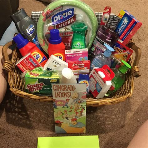 household gifts new home gift basket my creations pinterest gaver