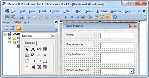 Excel Vba Userform Easy Excel Macros Excel Vba Templates