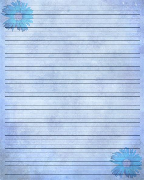 free printable pretty lined paper 9 best images of journal writing paper printable