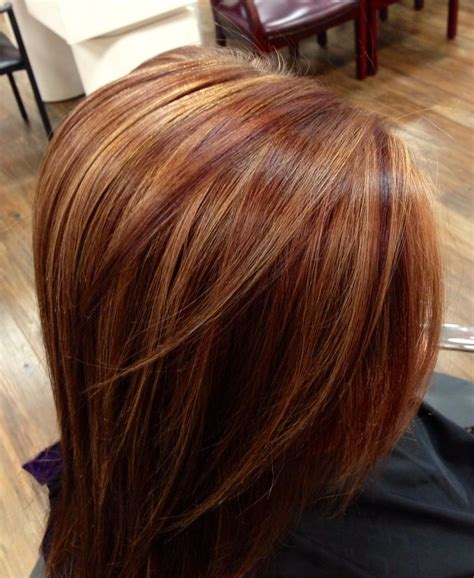 auburn hair color with highlights the world s catalog of ideas