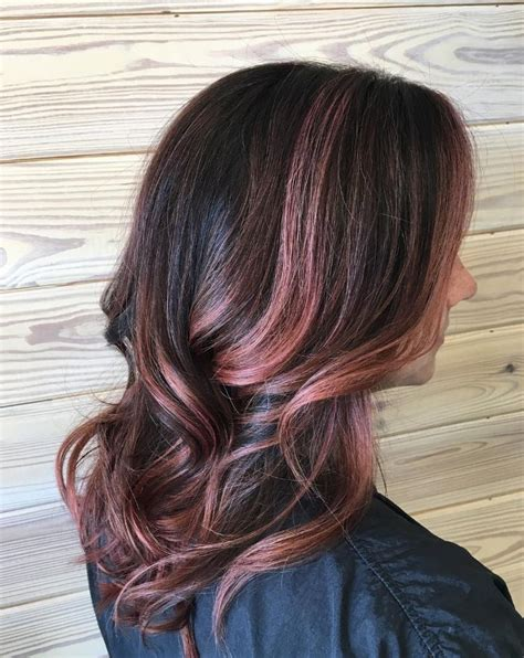 rose gold hair dye dark hair 17 best ideas about aveda hair color on pinterest rose