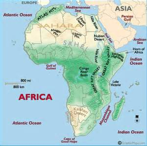 Map Of Africa Physical Features by Pics Photos Maps Africa Classroom Maps Africa Physical